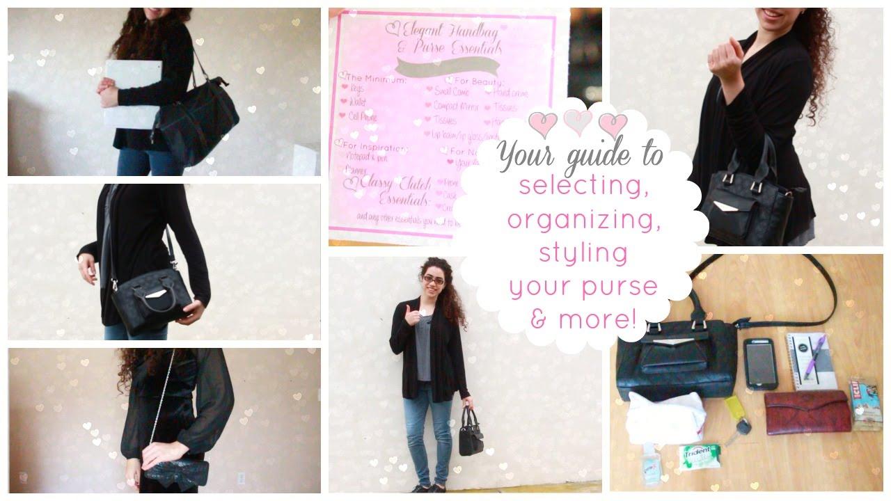 Ladylike Charm Introduction To Elegant Purses Handbags