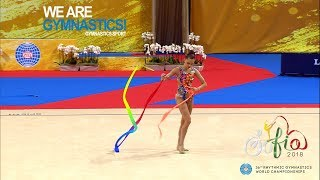 2018 Rhythmic Worlds – Arina's Tough Break