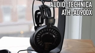 Audio-Technica ATH-AD900X Open-Back Audiophile Headphones Review