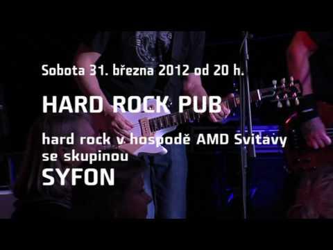 Syfon Hard Rock Pub v AMD 2012 (pozvánka)