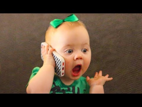 CUTE Babies trying to Say Words - FUNNY Baby talking Videos