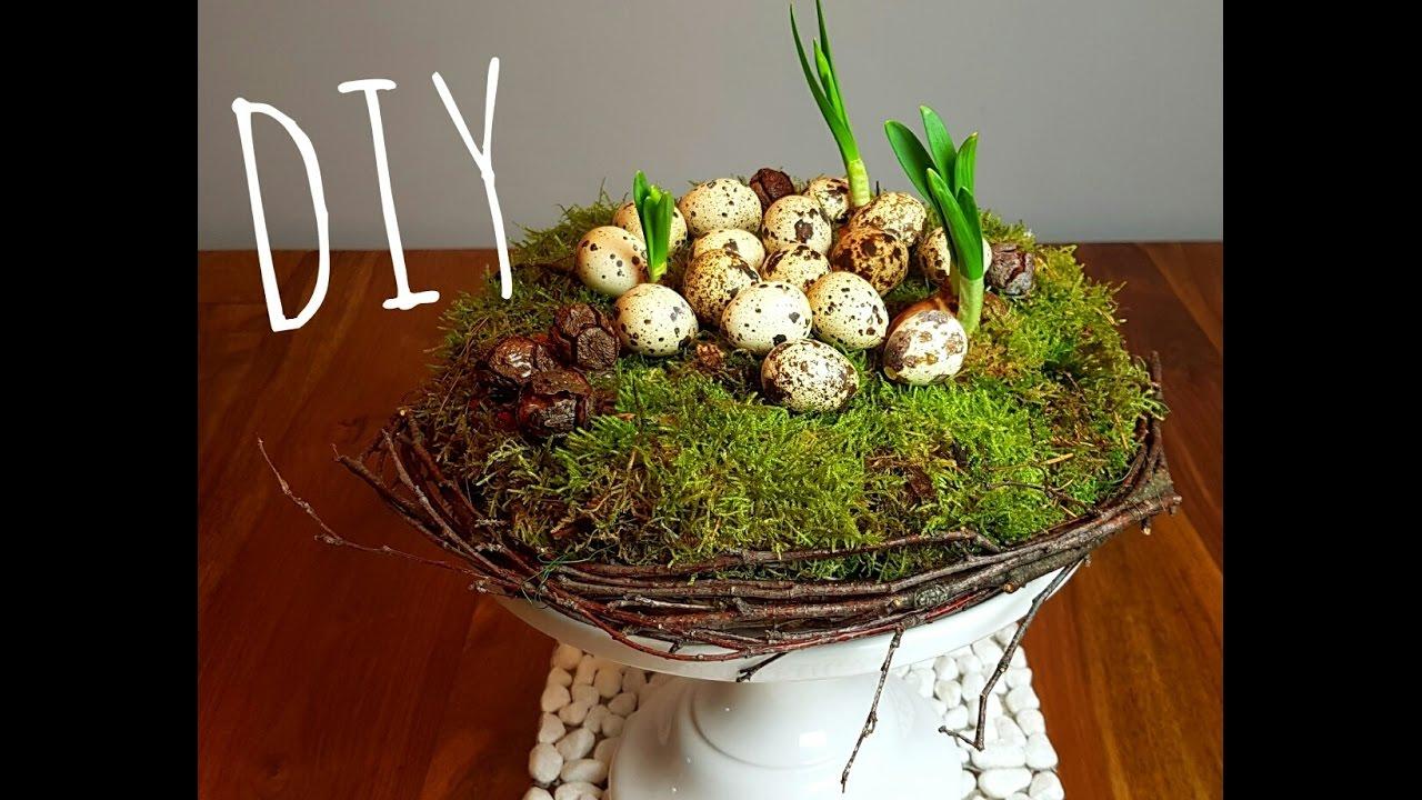 Diy wiosenna dekoracja wielkanoc diy fr hlings deko for Herbstblatter deko basteln