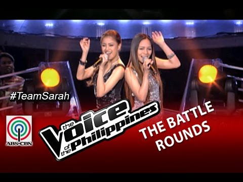 """The Voice of the Philippines Battle Round """"Lady Marmalade"""" by Monique Lualhati and Shaira Opsimar"""