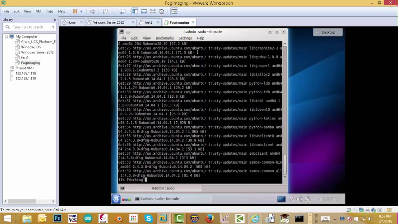 Complete Fog Imaging server Tutorial with Fog 1 2 0 Windows 10