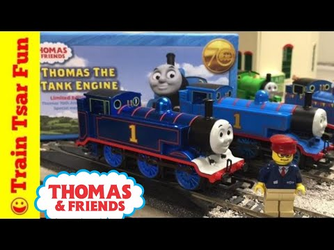 70th Anniversary Thomas the Tank Engine Limited Edition Hornby OO  Gauge Locomotive Train