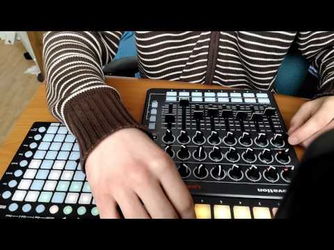 Live techno novation Launch control, launch control XL, Launchpad mini Ableton live 9