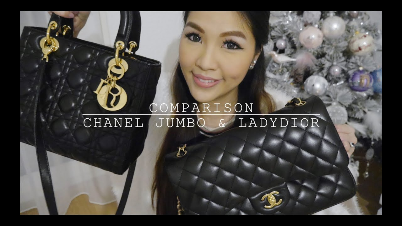 Requested  Comparison between Chanel Jumbo   Ladydior♥ fcb6052ef70f3