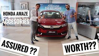2018 Honda Amaze Best Accesories | Honda Amaze Modification | Honda Amaze | Honda Amaze Accesories