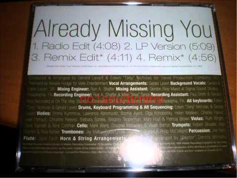 """Gerald Levert & Eddie Levert, Sr """"Already Missing You (Remix Edit)"""