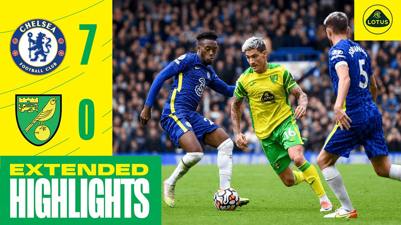 Download EXTENDED HIGHLIGHTS | Chelsea 7-0 Norwich City