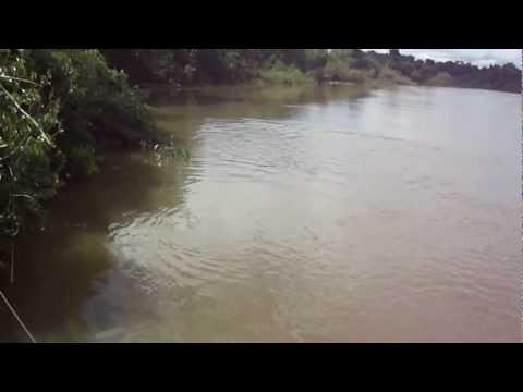 Rancho Bom Futuro no rio Itiquira