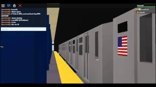 [ROBLOX] IND Subway: R42 C Train @ WTC E Platform TURN VOLUME OFF!