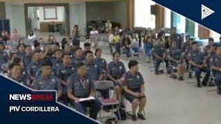 NEWS BREAK: 57 senior police officers ti Cordillera, nagturpos iti public safety senior leadership c
