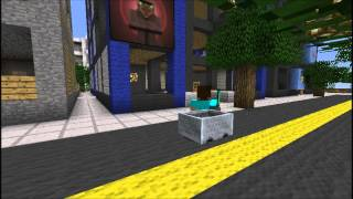 Minecraft Short: Car Chase (Part 1)