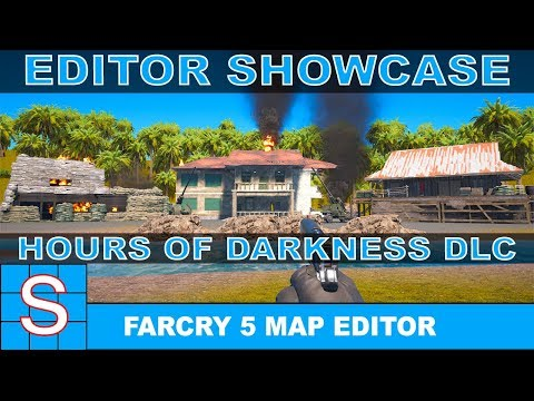 Far Cry 5 Map Editor Showcase   Hours of Darkness DLC