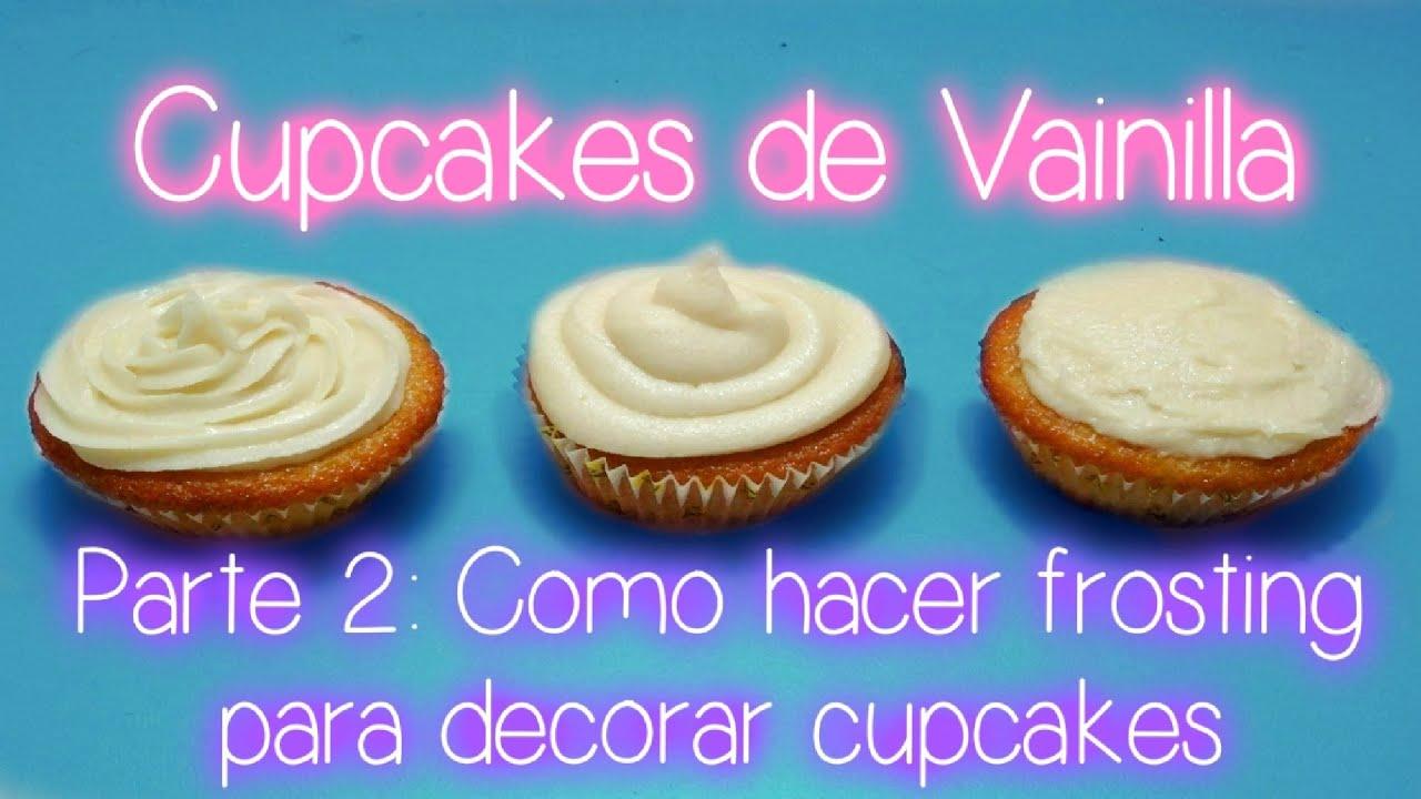 recetas faciles para cupcakes
