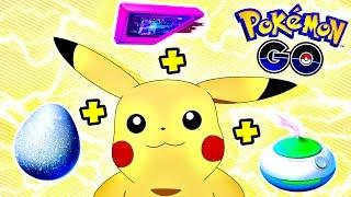 Pokemon Go / Покемон Го ► INCENSE + LUCKY EGG + LURE MODULE ► #11