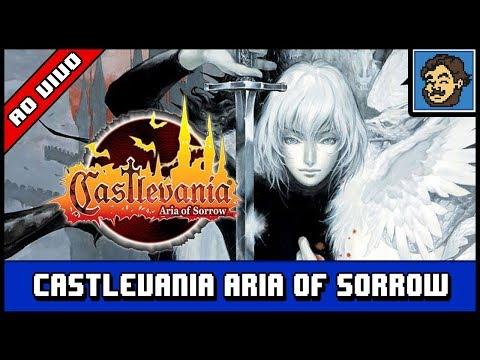 Ao Vivo - Castlevania: Aria of Sorrow - Relembrando como joga - Tanta gente pediu, resolvi dar uma rejogada pra ver o quanto que estou enferrujado no jogo