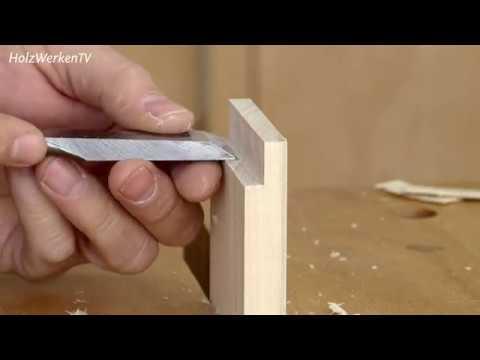Fälzen, nuten, fertig: Feines Kästchen nur mit Handwerkzeug