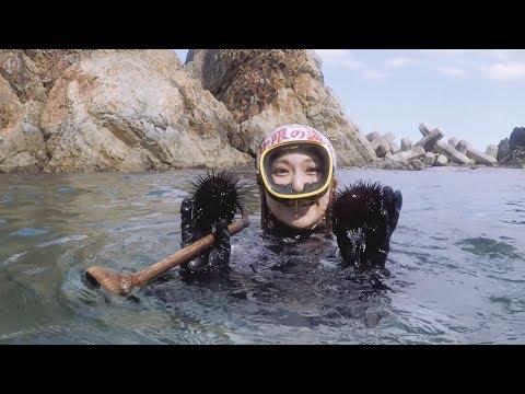 "Take a deep dive with ""Ama"" divers / 日本伝統の海女漁をストリートビュー"