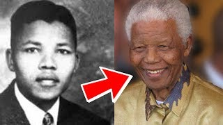 Nelson Mandela from 16 to 95 years