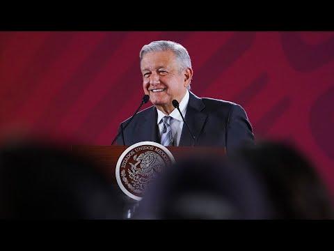 Representarán a México SHCP y SRE en Cumbre G20 de Osaka, Japón. Conferencia presidente AMLO