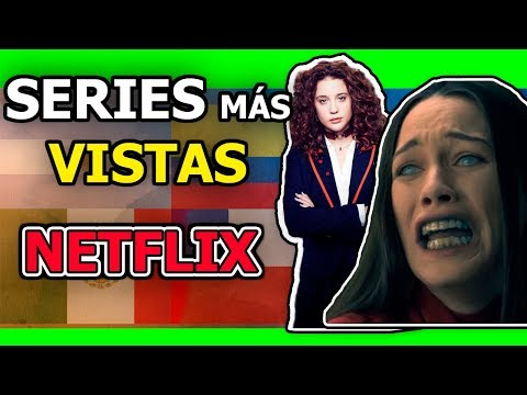 10 MEJORES SERIES DE NETFLIX MAS VISTAS || TE GUSTARÁN 😎