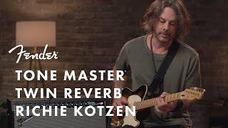 Richie Kotzen Tests Out The Tone Master Twin Reverb | Fender Amplifiers | Fender