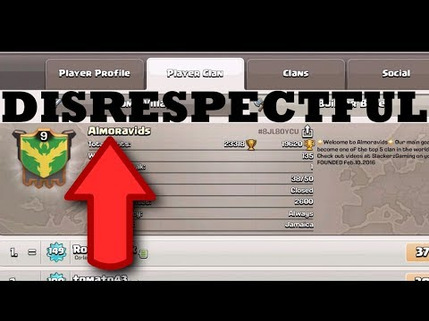 Clash of Clans - Almoravids disrespects their