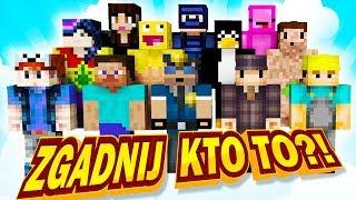 ODGADYWANIE POSTACI Z DOKNESEM! - Minecraft Zgadnij Kto To?