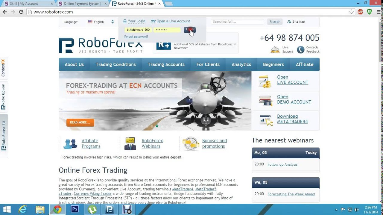 Gft forex deposit funds