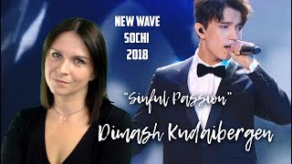 Dimash Kudaibergen Sinful Passion Грешная страсть Sochi 2018