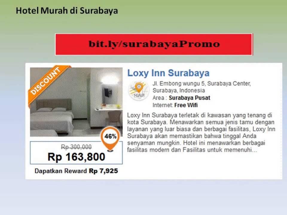 Hotel Murah Di Surabaya Dekat Grand City Losmen