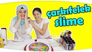 ÇARKIFELEK Slime Challenge ile En Kötü Slime | EN ŞANSSIZ YARIŞMA !! 😢😢( Wheel of Fortune Slime )
