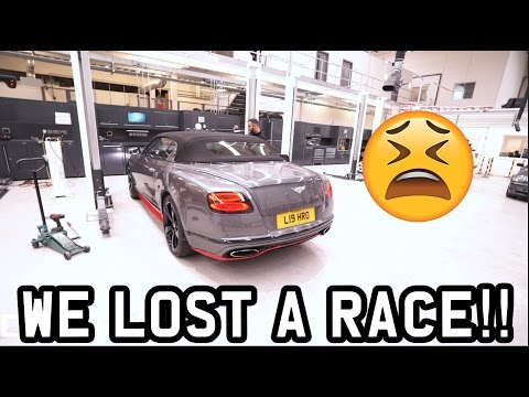 WE LOST A RACE!!!! *LOTTO BOYZZ & FILMING WITH BBC*