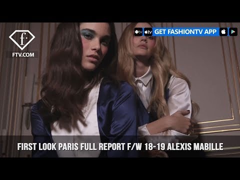 Alexis Mabille Full of Flounce Paris Fashion Week Fall/Winter 2018-19 Full Report | FashionTV | FTV