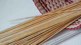 Делаем трубочки для плетения мягкими и эластичными