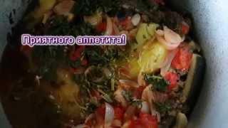 Баклажаны и перец, фаршированные мясом