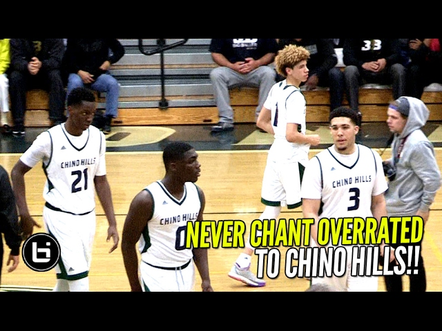Chino Hills Turn OVERRATED Chants Into 34 Point Win In 1st Playoff Game!! Full Highlights