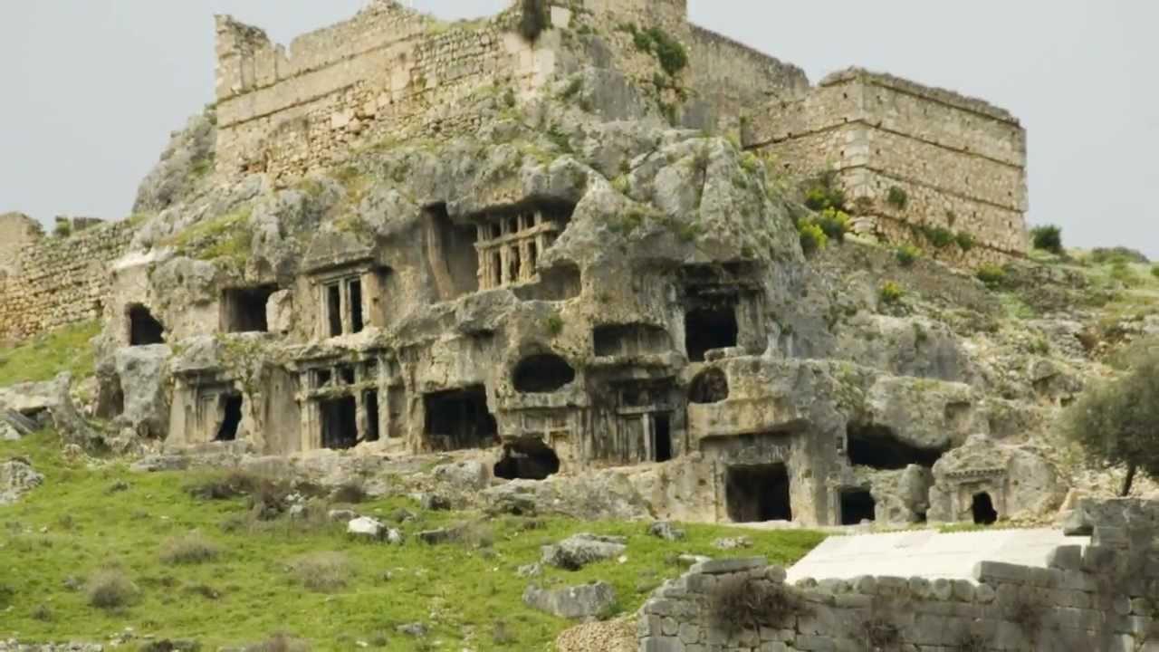 Ancient City of Tlos and Saklikent Canyon, Fethiye, Mugla, Turkey - YouTube