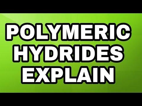 What Is Polymeric Hydrides Full Explain In URDU /HINDI Chemistry 12( Learning 4u)