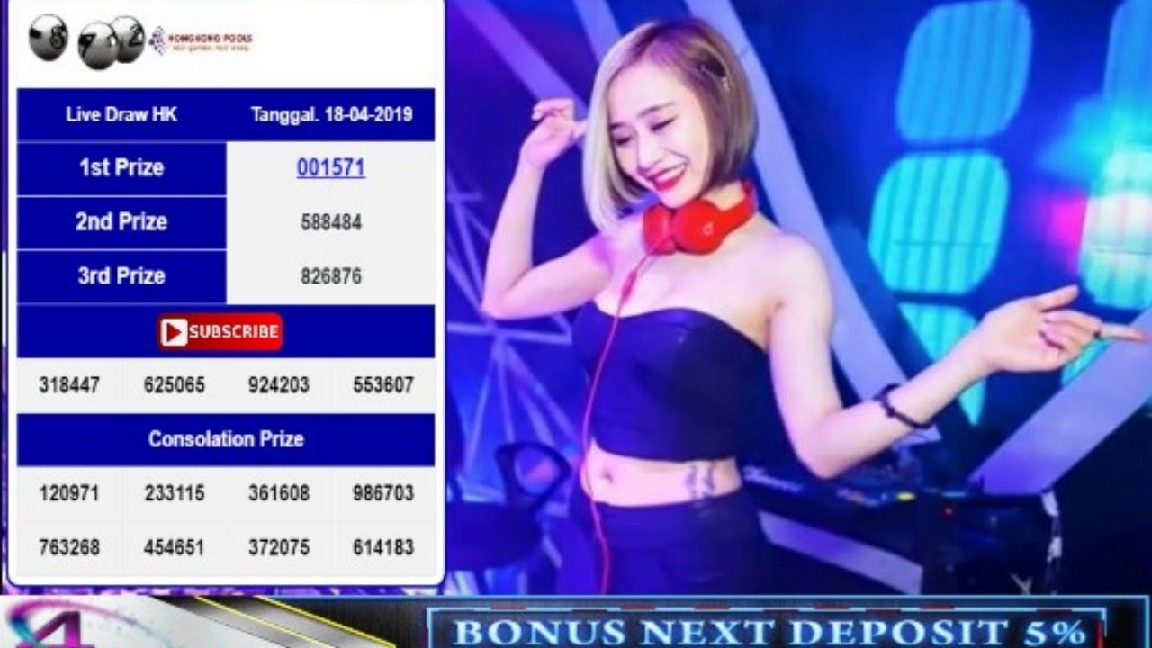 LIVE DRAW HK 6D HARI INI SABTU 19 APRIL 2019