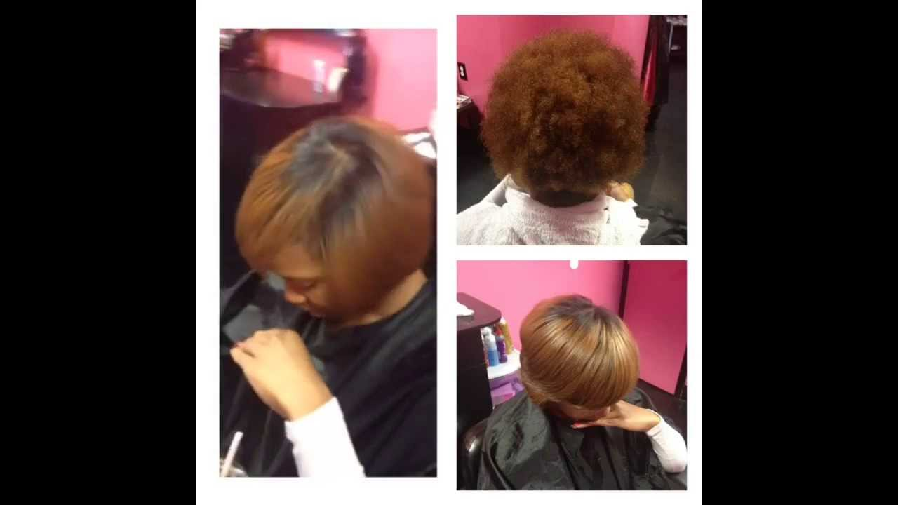 Come Get Your Silk Press By The Best Before And After