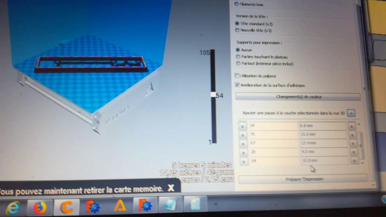 tutoriel comment mettre en pause imprimante 3d dagoma avec. Black Bedroom Furniture Sets. Home Design Ideas