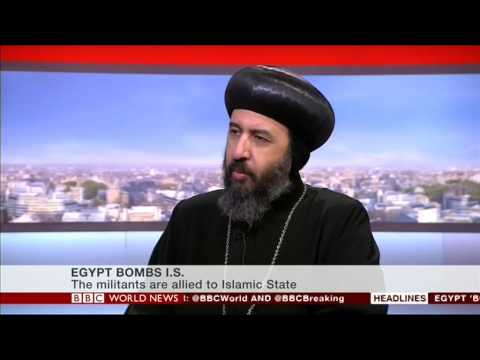 BBC World News Studio Interview with Bishop Angaelos