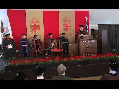 May 2016 Brown University Graduate School Doctoral Ceremony