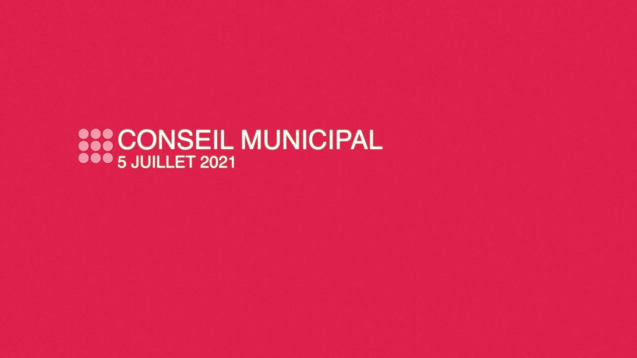 Ville de Nanterre - Conseil municipal du 5 juin 2021