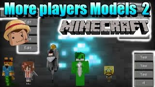 Minecraft Mod [ More Players Models 2 ] 1.8 ! Transformate !