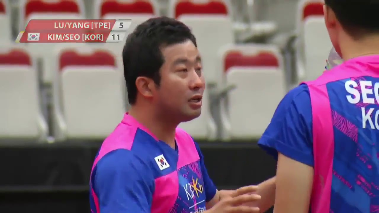 2017 Canada Open Grand Prix Semifinal Seo Sung Jae Kim W H vs
