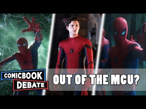 Spider-Man OUT of the MCU?   Tom Holland Still Spider-Man  Live-Action Spider-Verse movie   Venom 2
